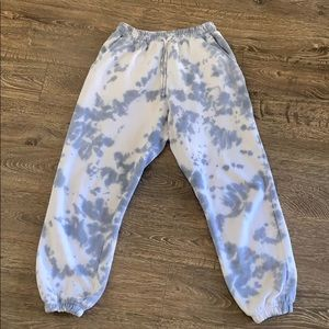 Tie dye sweatpants size 6